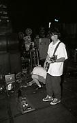 Martyn Walsh - Inspiral Carpets, backstage, Manchester, UK, circa 1989