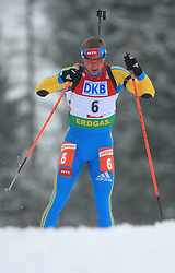 Oleg Berezhnoy (UKR) at Men 20 km Individual at E.ON Ruhrgas IBU World Cup Biathlon in Hochfilzen (replacement Pokljuka), on December 18, 2008, in Hochfilzen, Austria. (Photo by Vid Ponikvar / Sportida)