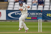 Tim Ambrose (Warwickshire County Cricket Club) in action during the LV County Championship Div 1 match between Durham County Cricket Club and Warwickshire County Cricket Club at the Emirates Durham ICG Ground, Chester-le-Street, United Kingdom on 13 July 2015. Photo by George Ledger.