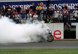 JAMES HAYDON REVE RED BULL DUCATI British Superbike Championship Round 12 Silverstone  2000