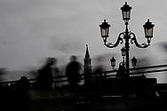 Venezia - Sullo sfondo il Campanile dell'Isola di San Giorgio