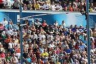 1.7.2012, Olympiastadion - Olympic Stadium, Helsinki, Finland..European Athletics Championship - Yleisurheilun EM-kisat..Pole Vault Men - Miesten seiväshyppy..Rima putoaa.