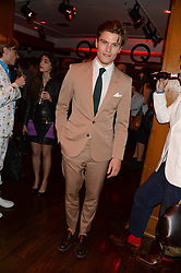 OLIVER CHESHIRE at the Men's Health, Oliver Spencer & Liberty Party held at Liberty, Regent Street, London on 17th June 2013.