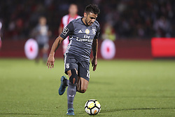 October 22, 2017 - Porto, Aves, Portugal - Benfica's Argentinian forward Toto Salvio during the Premier League 2017/18 match between CD Aves and SL Benfica, at Estadio do Clube Desportivo das Aves in Aves on October 22, 2017. (Credit Image: © Dpi/NurPhoto via ZUMA Press)