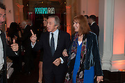 JACKIE STEWART; HELEN STEWART, Gala Opening of RA Now. Royal Academy of Arts,  8 October 2012.