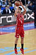 DESCRIZIONE : Pesaro Lega A 2014-2015 Consultinvest Pesaro EA7 Emporio Armani Milano <br /> GIOCATORE : Bruno Cerella<br /> CATEGORIA : tiro three points<br /> SQUADRA : EA7 Emporio Armani Milano<br /> EVENTO : Campionato Lega A 2014-2015<br /> GARA : Consultinvest Pesaro EA7 Emporio Armani Milano<br /> DATA : 23/03/2015<br /> SPORT : Pallacanestro<br /> AUTORE : Agenzia Ciamillo-Castoria/GiulioCiamillo<br /> GALLERIA : Lega Basket A 2014-2015<br /> FOTONOTIZIA : Pesaro Lega A 2014-2015 Consultinvest Pesaro EA7 Emporio Armani Milano<br /> PREDEFINITA :