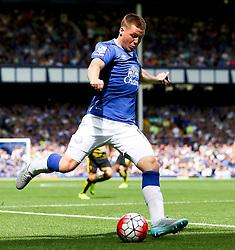 Everton's James McCarthy fires a shot at goal  - Mandatory byline: Matt McNulty/JMP - 07966386802 - 08/08/2015 - FOOTBALL - Goodison Park -Liverpool,England - Everton v Watford - Barclays Premier League