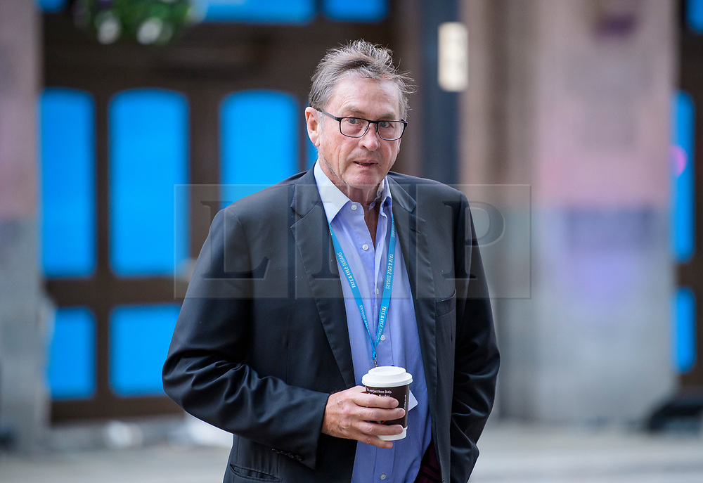 © Licensed to London News Pictures. 02/10/2017. Manchester, UK. LORD ASHCROFT seen on the second day of the Conservative Party Conference. The four day event is expected to focus heavily on Brexit, with the British prime minister hoping to dampen rumours of a leadership challenge. Photo credit: Ben Cawthra/LNP