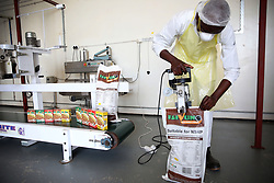 South Africa - Durban - 26 May 2020 - Nosipho Mchunu the founder of Isivuno Soya Foods manufactures top quality and tasteful Soya Mince at her factory in Mout Elias, Dalton. Isivuno provide the provincial Government warehouses that have the aim of providing food products to NGO/ and NPO's. As a food product company they have the aim of providing nutritional food for all Governmental Departments that have an aim too to provide food to Correctional Sevices, Water food programmes, Security Companies and for all retail markets.<br /> For more info contact (Nosipho @ 0793384003)<br /> Picture: Motshwari Mofokeng/African News Agency(ANA)