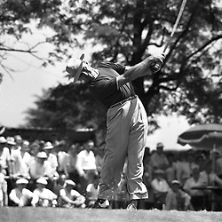 Samuel Jackson Snead (May 27, 1912 – May 23, 2002) was an American professional golfer who was one of the top players in the world for most of four decades. He and two of the other greatest golfers of all time, Ben Hogan and Byron Nelson, were born within six months of each other in 1912. Snead won a record 82 PGA Tour  events.(wikipedia)