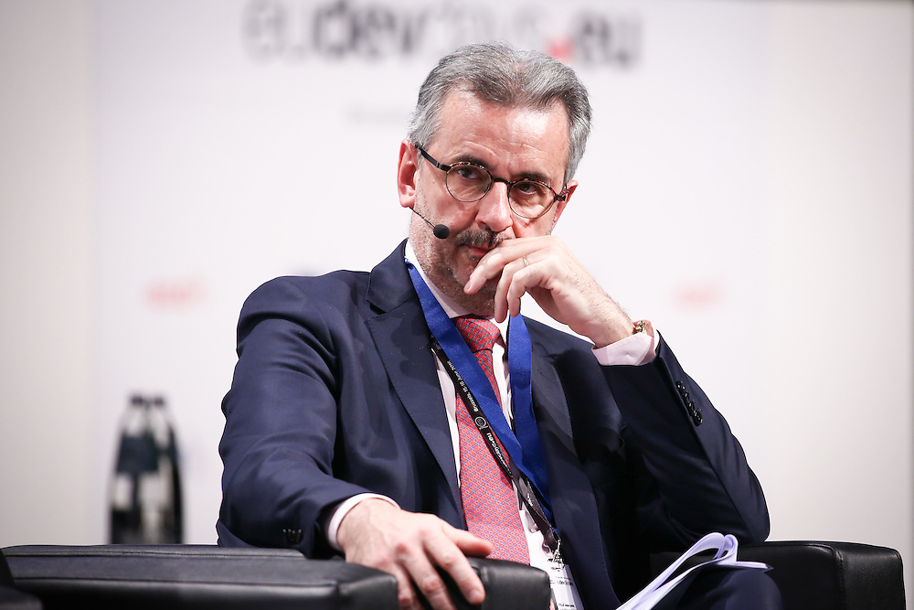 20160615 - Brussels , Belgium - 2016 June 15th - European Development Days - My city , my right - Towards inclusive and equitable urban spaces for women- Jean-Louis Ville - Acting Director of Human Development and Migration European Commission, DG for International Cooperation and Development © European Union