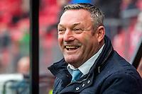 ALKMAAR - 26-02-2017, AZ - PEC Zwolle, AFAS Stadion, 1-1, PEC Zwolle trainer/coach Ron Jans