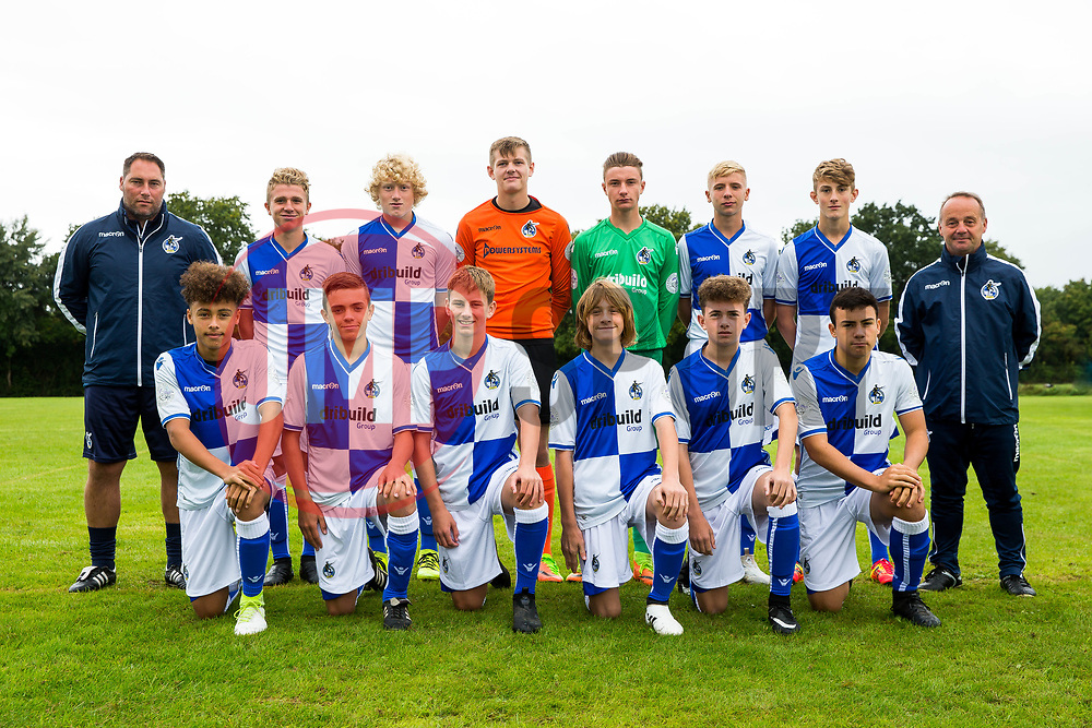 Bristol Rovers U15 Academy Team Photos - Rogan/JMP - 10/09/2017 - FOOTBALL - Yate Outdoor Sports Complex - Bristol, England.