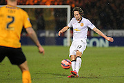 Manchester United's Daley Blind during the The FA Cup match between Cambridge United and Manchester United at the R Costings Abbey Stadium, Cambridge, England on 23 January 2015. Photo by Phil Duncan.