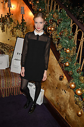 FLORRIE ARNOLD at the UK launch of WhoWhatWear UK held at Loulou's, Hertford Street, London on 24th November 2015.