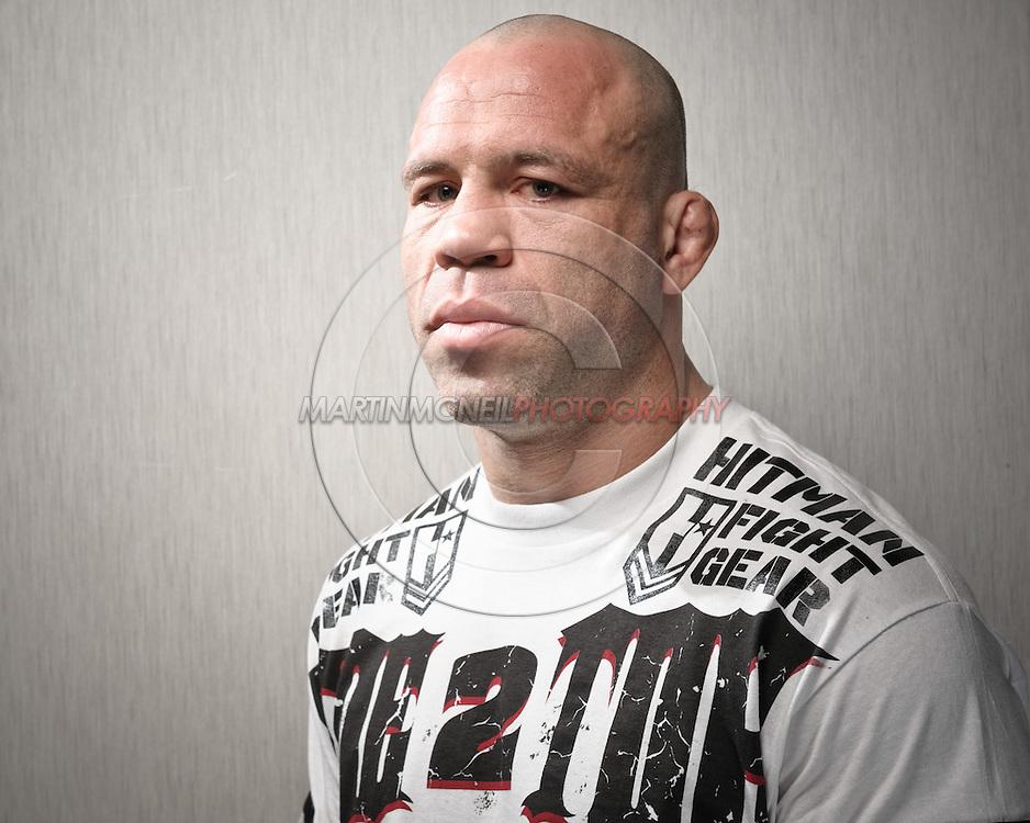 "A portrait of mixed martial arts athlete Wanderlei ""The Axe Murderer"" Silva"
