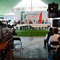 Toluca, México.- En el marco del 39 Aniversario del mercado 16 de Septiembre de Toluca, se llevará a cabo una Carrera Atlética de 5 kilómetros, evento organizado por los comerciantes, en coordinación con el Instituto Municipal de Cultura Física y Deporte de la capital mexiquense. Agencia MVT / Arturo Hernández.