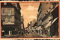 Zagreb : Ilica. <br /> <br /> ImpresumZagreb : M. J. [19--].<br /> Materijalni opis1 razglednica : tisak ; 8,9 x 14 cm.<br /> Mjesto izdavanjaZagreb<br /> Vrstavizualna građa • razglednice<br /> ZbirkaZbirka razglednica • Grafička zbirka NSK<br /> Formatimage/jpeg<br /> SignaturaRZG-ILIC-16<br /> Obuhvat(vremenski)20. stoljeće<br /> NapomenaM. J. vjerojatno M. Jaklin i varijante.<br /> PravaJavno dobro<br /> Identifikatori000946417<br /> NBN.HRNBN: urn:nbn:hr:238:683650 <br /> <br /> Izvor: Digitalne zbirke Nacionalne i sveučilišne knjižnice u Zagrebu
