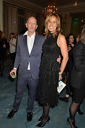 SIMON & SANTA SEBAG-MONTEFIORE at a party to celebrate the publication of The Romanovs 1613-1918 by Simon Sebag-Montefiore held at The Mandarin Oriental, 66 Knightsbridge, London on 2nd February 2016.
