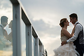 Megan & Adrien's Summer Sunset Whistlebear Wedding