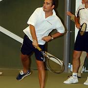 Tennisclinic Hilversum Open 2004, Jeroen van der Boom