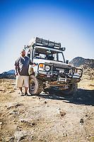 Mike Bradshaw, Ogden, Utah, 1991 HZJ77, Eureka, Utah. Part of an overland group who traveled from Green River to Cruiser Fest 16 in Salt Lake City.