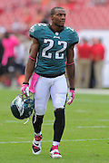 Philadelphia Eagles cornerback Brandon Boykin (22) during the Eagles 31-20 win over the Tampa Bay Buccaneers on Oct. 13, 2013 in Tampa, Florida. <br /> <br /> ©2013 Scott A. Miller