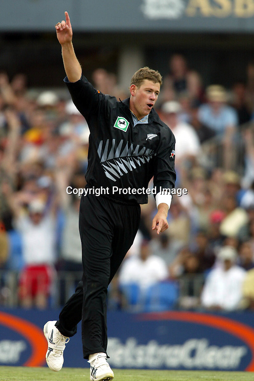 26th December 2002. Eden Park, Auckland, New Zealand. First One Day International, New Zealand v India. <br />