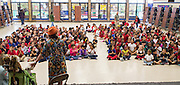 Susan Edwards, known as author Grace Birch, reads to students at Askew Elementary School, April 20, 2016.