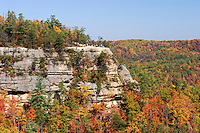 Scenic Vista of the Lookout Point from Atop the Natural Bridge, Natural Bridge State Resort Park, Kentucky
