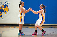 during the girls basketball game between Lamoille and Milton at Milton High School on Friday night December 18, 2015 in Milton, (BRIAN JENKINS/for the FREE PRESS)