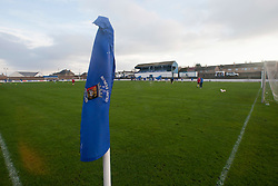 Newtown Park, home ground of Bo'ness United F.C. They are a Scottish junior football club, based in the town of Bo'ness. They are currently members of the Scottish Junior Football Association's East Region Super League..Bo'ness United 0 v 3 Cowdenbeath, Scottish Cup, 19/11/2011..Pic © Michael Schofield.