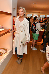 OLIVIA BUCKINGHAM at a party to celebrate the launch of Le Jardin de Monsieur Li by Hermes in association with Mr Fogg's was held at Hermes, 155 New Bond Street, London on 9th July 2015.