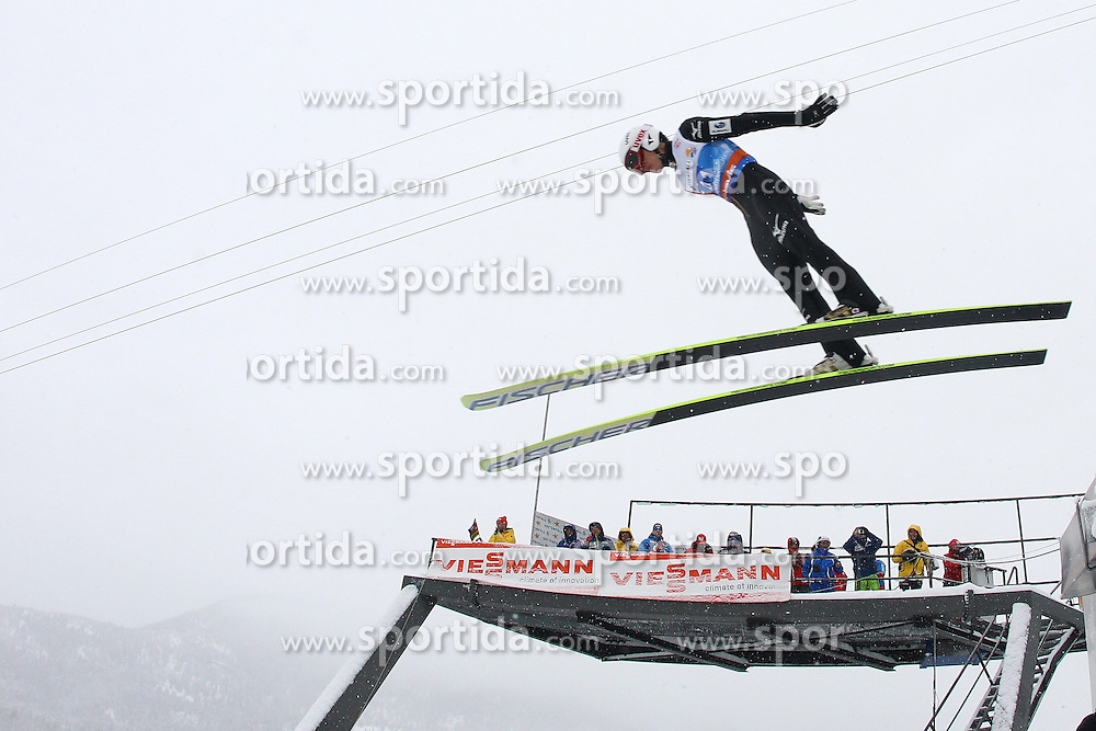 31.12.2011, Olympia Skisprungschanze, Garmisch Partenkirchen, GER, 60. Vierschanzentournee, FIS Ski Sprung Weltcup, Training, im Bild Taku TAKEUCHI (JPN) // Taku TAKEUCHI (JPN) during a practice session of 60th Four-Hills-Tournament FIS World Cup Ski Jumping at Olympia Skisprungschanze, Garmisch Partenkirchen, Germany on 2011/12/31. EXPA Pictures © 2011, PhotoCredit: EXPA/ Sven Kiesewetter
