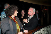 SIMON CALLOW, Party after the opening of  'Prick Up Your Ear's'  at the Comedy theatre. Cafe de Paris. Leicester Sq. London. 30 September 2009