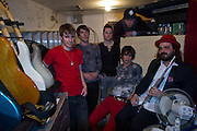 Gentlemen Hall photoshoot at Papa Charlies at Lutsen Ski Resort in Northern Minnesota near Grand Marais Mn. they are a Boston Ma. Indie Rock Band Assorted Musicians and Entertainers