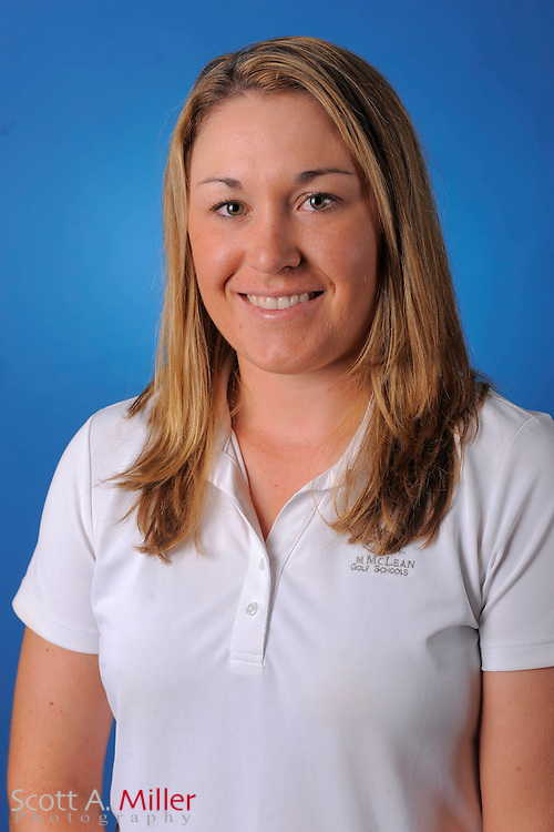 Kristin Walla during a portrait session prior to the second stage of LPGA Qualifying School at the Plantation Golf and Country Club on Sept. 25, 2011 in Venice, FL...©2011 Scott A. Miller