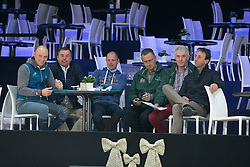 Clee Joe, (GBR), Philippaerts Ludo, (BEL), Thiry Kim, (BEL), Van Dijck Marc, (BEL) <br /> Super Final Youth Cup VLP-LRV<br /> Vlaanderen Kerstjumping - Memorial Eric Wauters - <br /> Mechelen 2015<br /> © Hippo Foto - Dirk Caremans<br /> 30/12/15