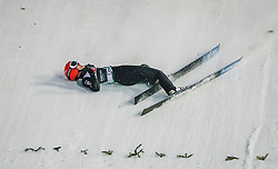 11.03.2020, Granasen, Trondheim, NOR, FIS Weltcup Skisprung, Raw Air, Trondheim, Herren, im Bild Sturz Stephan Leyhe (GER) // Crash Stephan Leyhe of Germany during men's 3rd Stage of the Raw Air Series of FIS Ski Jumping World Cup at the Granasen in Trondheim, Norway on 2020/03/11. EXPA Pictures © 2020, PhotoCredit: EXPA/ Tadeusz Mieczynski