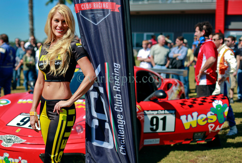 26 October 2013. New Orleans, Louisiana. <br /> The Ferrari 430, 360 and 355 French Quarter Classic Championship presented by Pirelli at the NOLA Motorsports Park.<br /> Photo; Charlie Varley<br /> varleypix.com