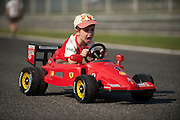 September 10-12, 2010: Italian Grand Prix. young Ferrari fan