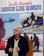 Vincenzo Vittorioso Presidente sezione Salvamento<br /> Incontro Nazionale  Coordinatori Salvamento FIN 2018<br /> Federazione Italiana Nuoto - Settore Salvamento<br /> Roma Italy 9-11  Novembre 2018<br /> Foto Giorgio Scala/Deepbluemedia