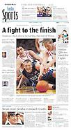 Duke versus Davidson Basketball.