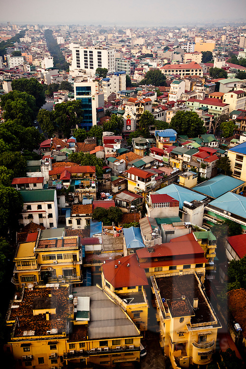 Cityscape of Hanoi, Vietnam, Southeast Asia