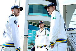 Joe Root of Yorkshire with teammates - Mandatory by-line: Robbie Stephenson/JMP - 05/04/2019 - CRICKET - Trent Bridge - Nottingham, England - Nottinghamshire v Yorkshire - Specsavers County Championship Division One