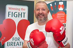 "Dr Rod Lawson Consultant in Respiratory Medicine at Sheffield Teaching Hospitals helps with the  launch of the ""Winning The Fight For Breath  with COPD Campaign"" in Meadowhall Shopping Centre Sheffield on Saturday 18th February 2012..www.pauldaviddrabble.co.uk..18th February 2012 -  Image © Paul David Drabble"