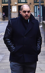 Derek Rose  arrives at the Southwark Crown court  accused of trying to blackmail Tamara Ecclestone, the daughter of  F1 suprimo Bernier Ecclestone, London, UK, Monday Feb.25, 2013. The jury are out. Photo by Max Nash / i-Images.