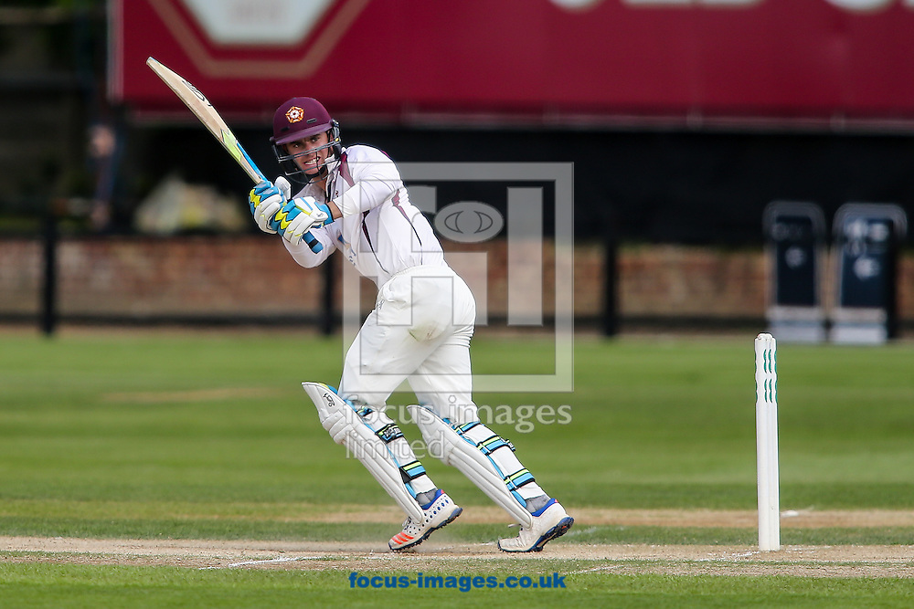 Jake Libby of Northamptonshire CCC during the Specsavers County C'ship Div Two match at the County Ground, Northampton<br /> Picture by Andy Kearns/Focus Images Ltd 0781 864 4264<br /> 16/05/2016