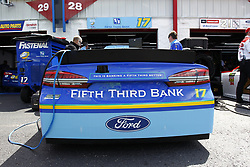 April 27, 2018 - Talladega, Alabama, United States of America - The Monster Energy NASCAR Cup Series teams take to the track to practice for the GEICO 500 at Talladega Superspeedway in Talladega, Alabama. (Credit Image: © Justin R. Noe Asp Inc/ASP via ZUMA Wire)