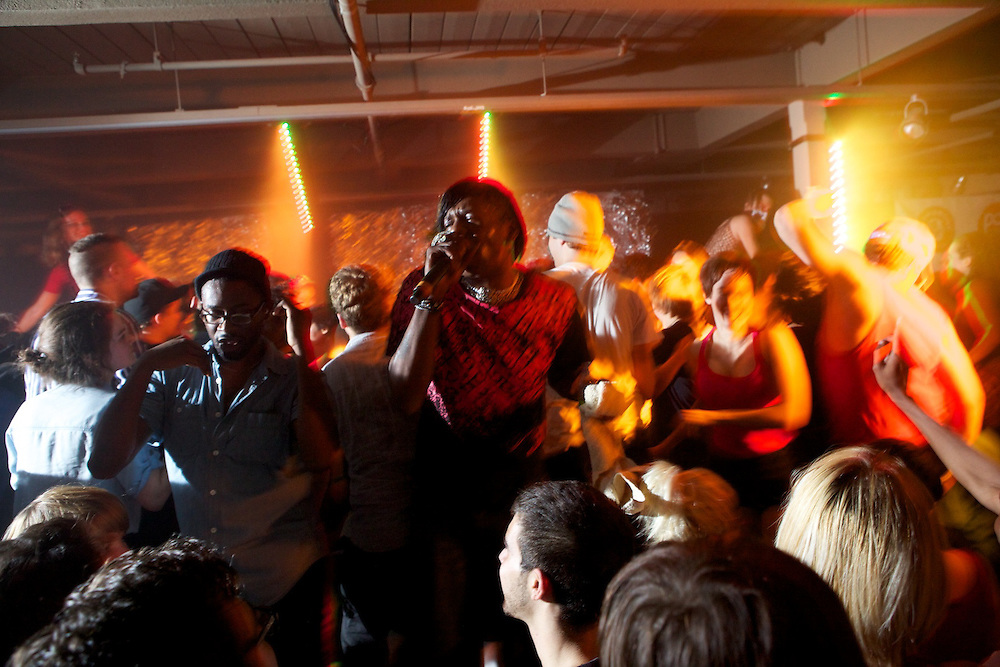 Big Freedia and The Divas close out the 9th edition of the Pop Montreal music festival on October 3rd, 2010 at Espace Reunion.